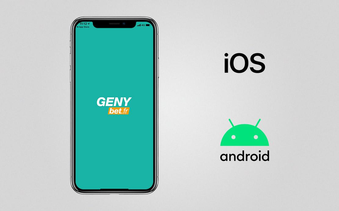 Genybet l'apk pour Android